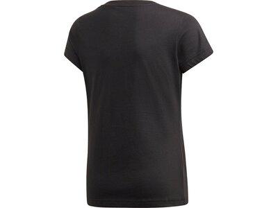 ADIDAS Kinder T-Shirt Essentials Linear Schwarz