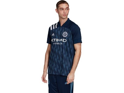 "ADIDAS Herren Fußballtrikot ""New York City FC Away Saison 2020/21"" Replica Blau"