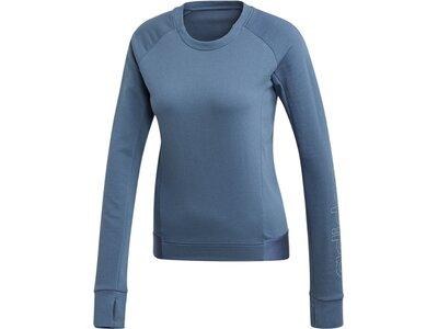 ADIDAS Damen Motion Sweatshirt Blau