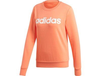 ADIDAS Damen Essentials Linear Sweatshirt Braun