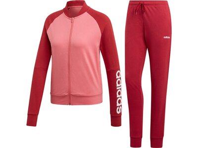 ADIDAS Damen Trainingsanzug Rot