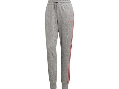 ADIDAS Damen Essentials 3-Streifen Hose Grau