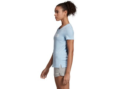 ADIDAS Damen Shirt LINEAR 1 Blau