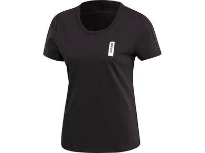 ADIDAS Damen T-Shirt Brilliant Basics Schwarz