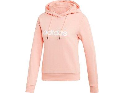 ADIDAS Damen Brilliant Basics Hoodie pink