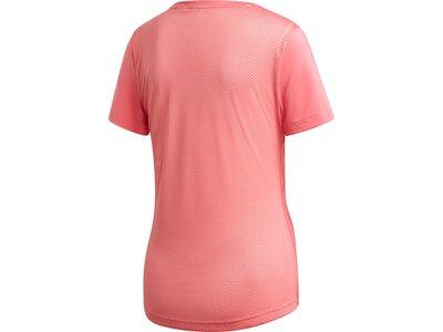 ADIDAS Damen T-Shirt Design 2 Move Logo Braun