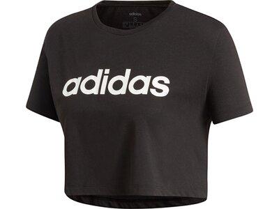 ADIDAS Damen Shirt D2M CROP Schwarz
