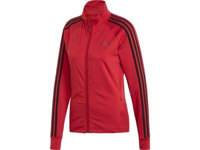 ADIDAS Damen Jacke D2M 3S TT Rot