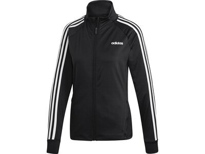 ADIDAS Damen Designed 2 Move 3-Streifen Trainingsjacke Schwarz