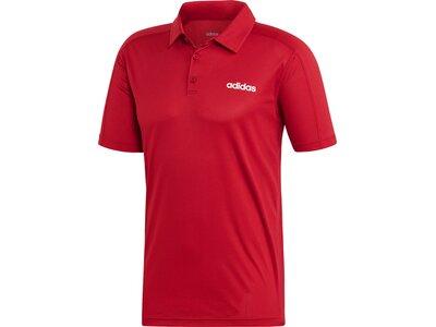 ADIDAS Herren Design 2 Move Climacool Poloshirt Rot