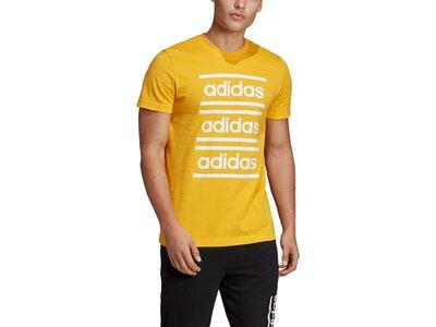 ADIDAS Herren Shirt C90 BRANDED TEE Braun