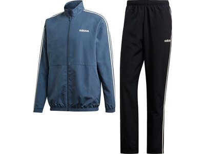 ADIDAS Herren 3-Streifen Woven Cuffed Trainingsanzug Blau