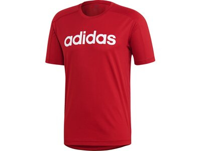 ADIDAS Herren T-Shirt Design 2 Move Climacool Logo Rot