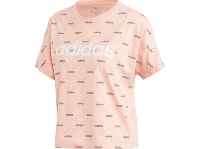 ADIDAS Damen Shirt CORE FAV T pink
