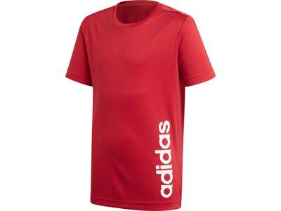 ADIDAS Kinder Shirt TR LIN Rot