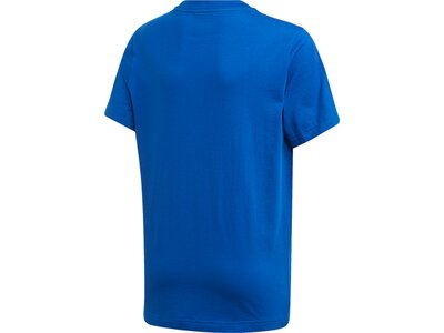 ADIDAS Kinder T-Shirt Essentials 3-Streifen Blau