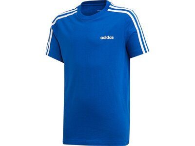 ADIDAS Kinder Essentials 3-Streifen T-Shirt Blau