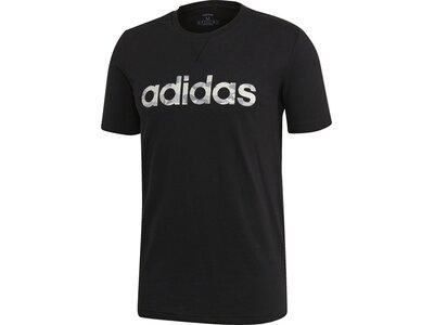 ADIDAS Herren Shirt E CAMO LIN Schwarz