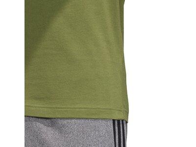 ADIDAS Herren T-Shirt Essentials Linear Logo Grün