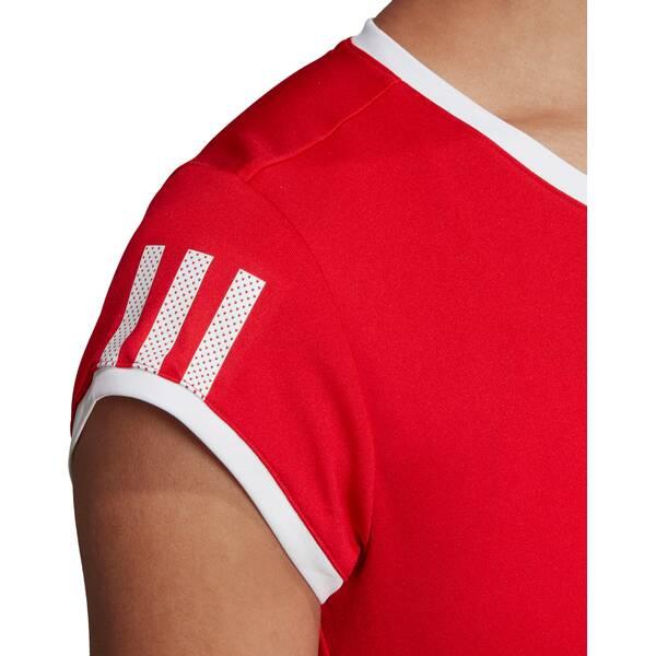 ADIDAS Damen 3-Streifen Club T-Shirt