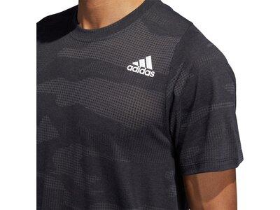 ADIDAS Herren T-Shirt FreeLift Camo Burnout Schwarz