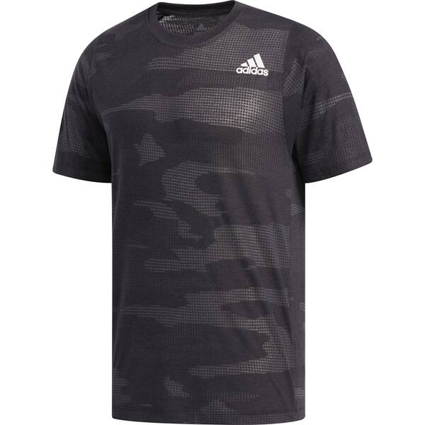 ADIDAS Herren T-Shirt FreeLift Camo Burnout