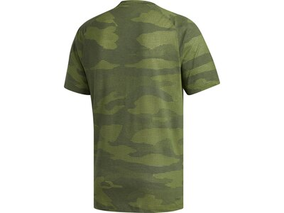 ADIDAS Herren T-Shirt FreeLift Camo Burnout Braun
