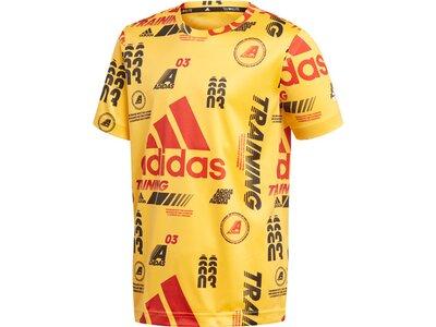 ADIDAS Kinder T-Shirt Bold Gelb
