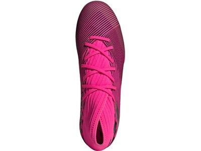 ADIDAS Herren Fußballschuhe NEMEZIZ 19.3 IN Pink