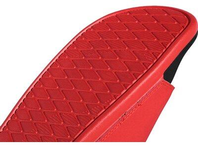 ADIDAS Herren Cloudfoam Plus Logo Adilette Rot