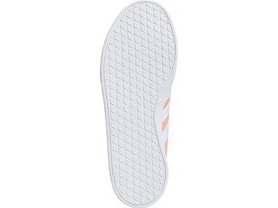 ADIDAS Damen Skateboardschuhe VL COURT 2.0 Rot