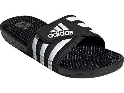 adidas Adissage Badeschlappen Schwarz