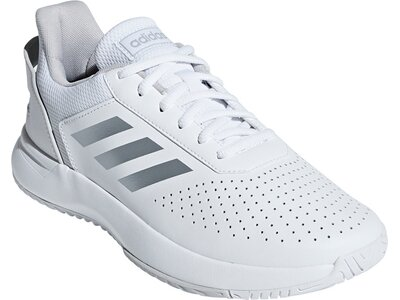 ADIDAS Damen Tennisindoorschuhe COURTSMASH Grau