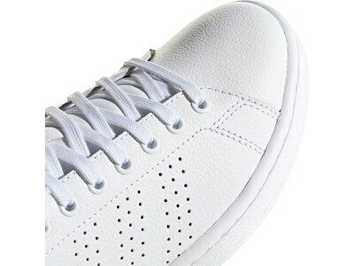 ADIDAS Damen Tennisindoorschuhe ADVANTAGE Weiß