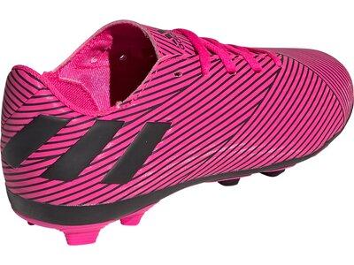 ADIDAS Kinder Fussballschuhe NEMEZIZ 19.4 FxG J Pink