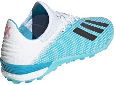 ADIDAS Herren X 19.1 TF Fußballschuh Blau