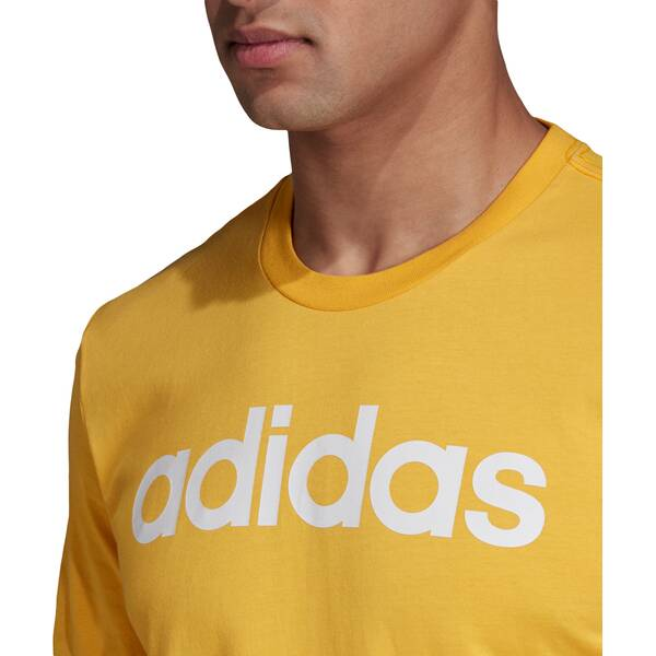 ADIDAS Herren Essentials Linear Logo T-Shirt
