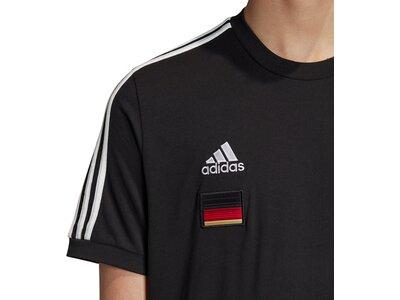 ADIDAS Herren Fanshirt DFB 3S Schwarz