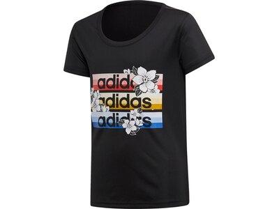 ADIDAS Kinder T-Shirt FARM Rio Cardio Schwarz