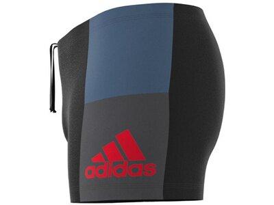 ADIDAS fitness colorblock swim boxer Grau