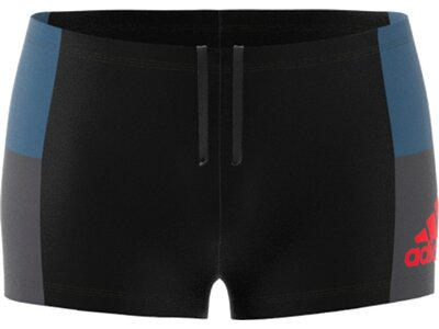ADIDAS fitness colorblock swim boxer Grau