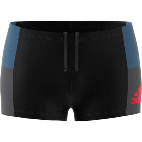 ADIDAS  fitness colorblock swim boxer