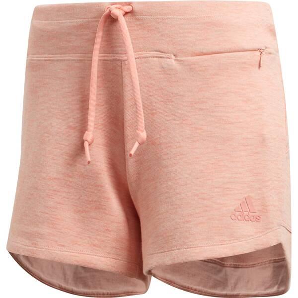 Hosen - ADIDAS Damen ID Mélange Shorts › Pink  - Onlineshop Intersport