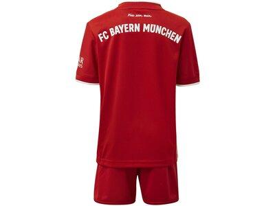 ADIDAS Kinder FC Bayern München Mini-Heimausrüstung Rot
