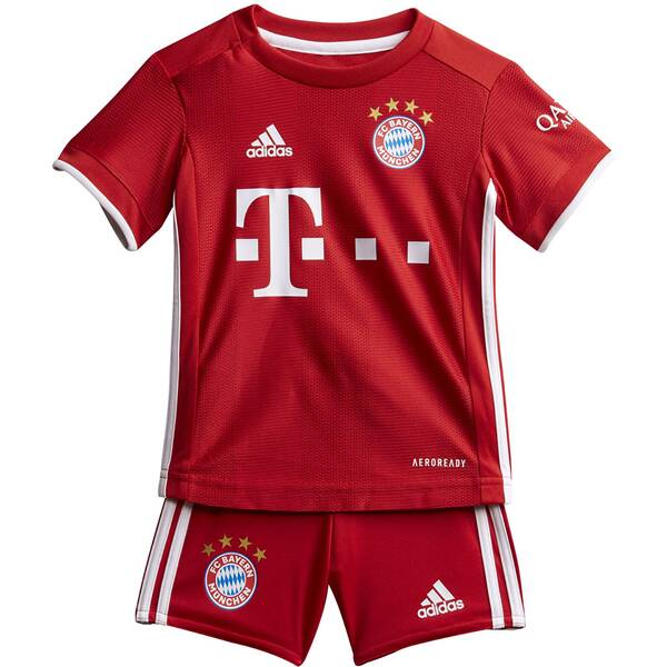 ADIDAS Kinder FC Bayern München Mini-Heimausrüstung