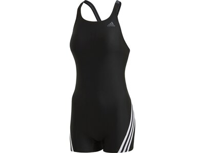 ADIDAS Damen Badeanzug FIT LEGSUIT 3S Schwarz