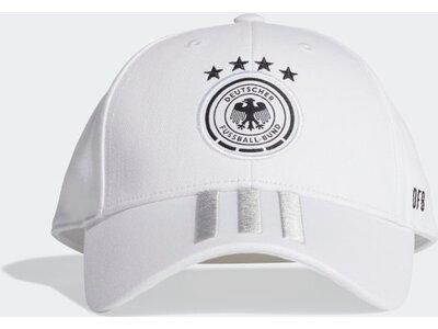 adidas Herren DFB BASEBALL KAPPE Weiß