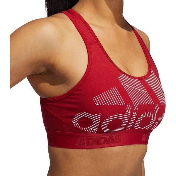 ADIDAS Damen Don't Rest Alphaskin Badge of Sport Sport-BH