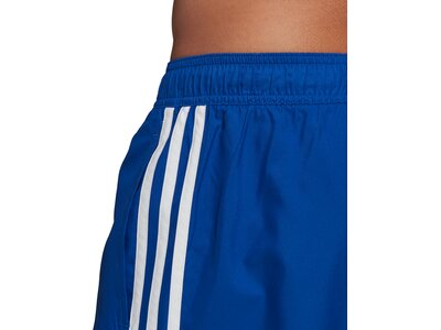 adidas Herren 3-Streifen Schwimmen Badeshorts Blau