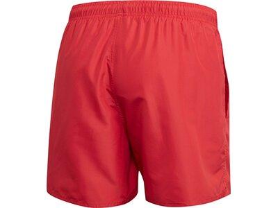 adidas Herren CLX Solid Schwimmen Badeshorts Rot